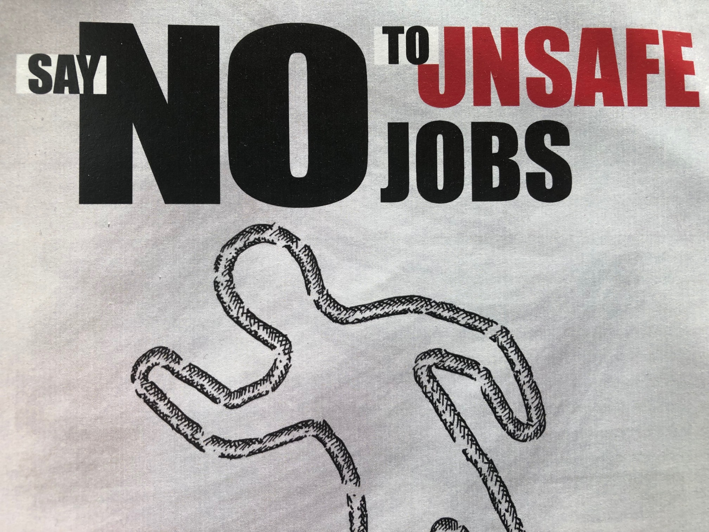 Thumbnail image for Say No to Unsafe Jobs
