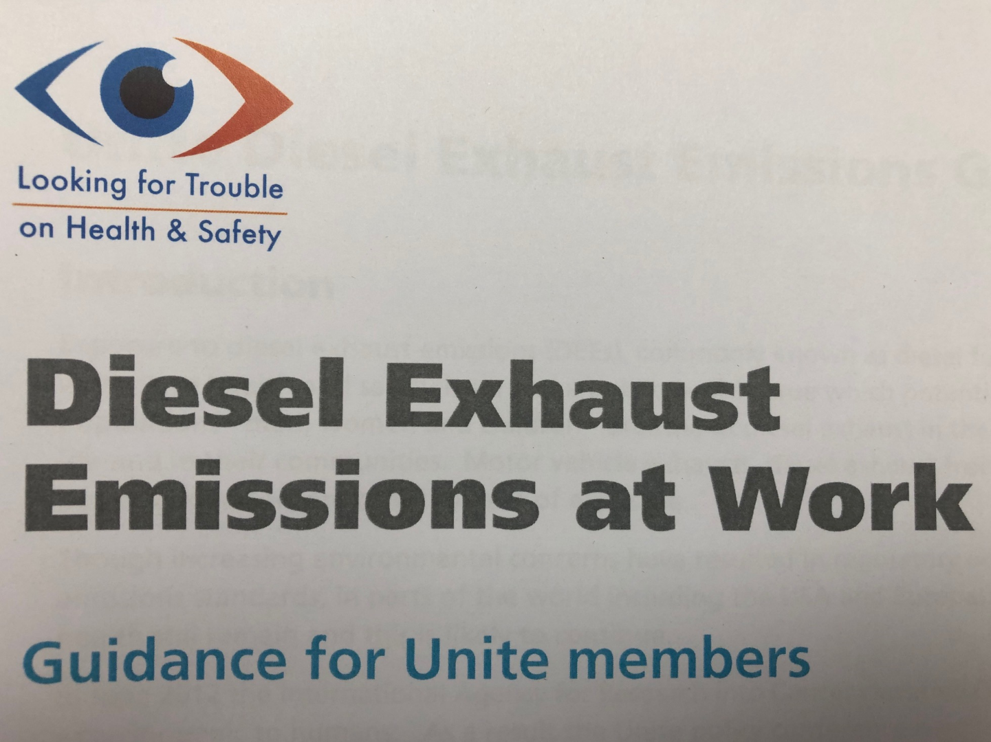 Thumbnail image for Diesel Exhaust Emissions